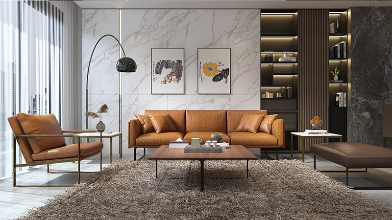 德洛皮沙发浅析现代简约风格家具的特点
