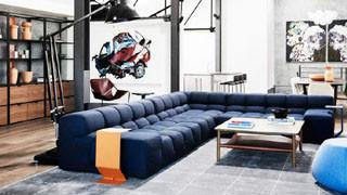 现代简约布艺沙发的一些选购技巧