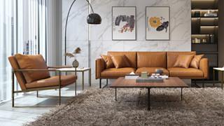 学好这几招,让你买到真正的皮沙发