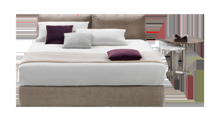 特鲁瓦 现代简约客房床(Troy bed)