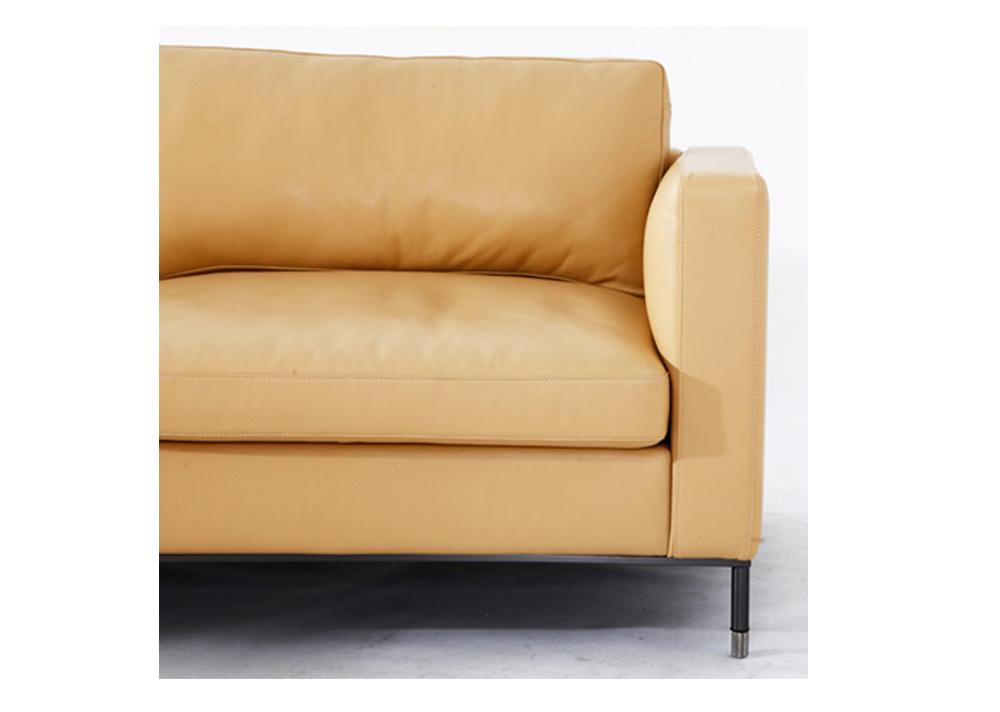 朱尔斯  现代轻奢转角客厅真皮沙发(Jules)