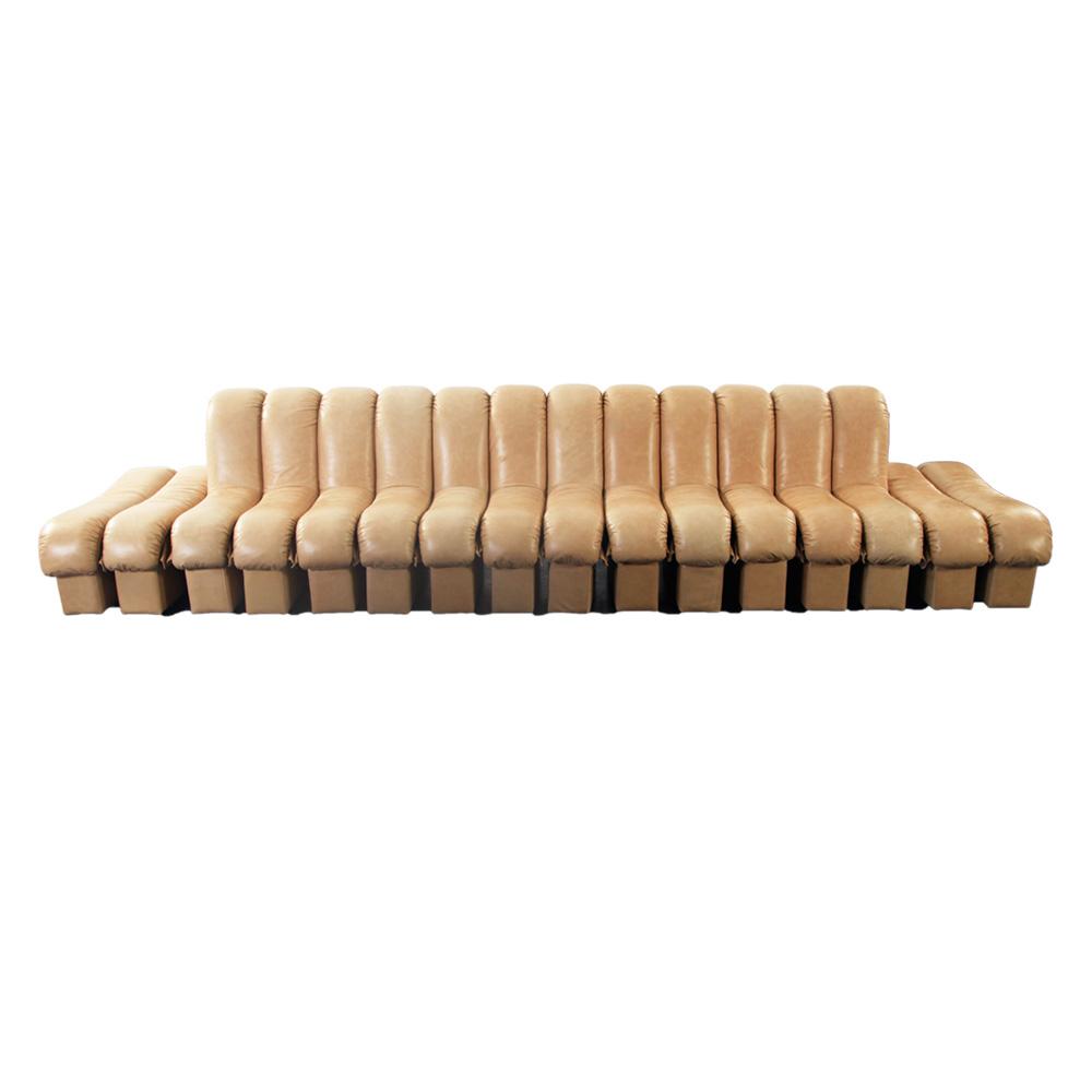 圭多 现代简约模块组合真皮沙发(Guido)