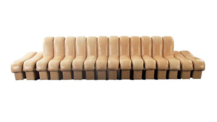 圭多 现代简约模块组合真皮沙发(Guido Sofa)