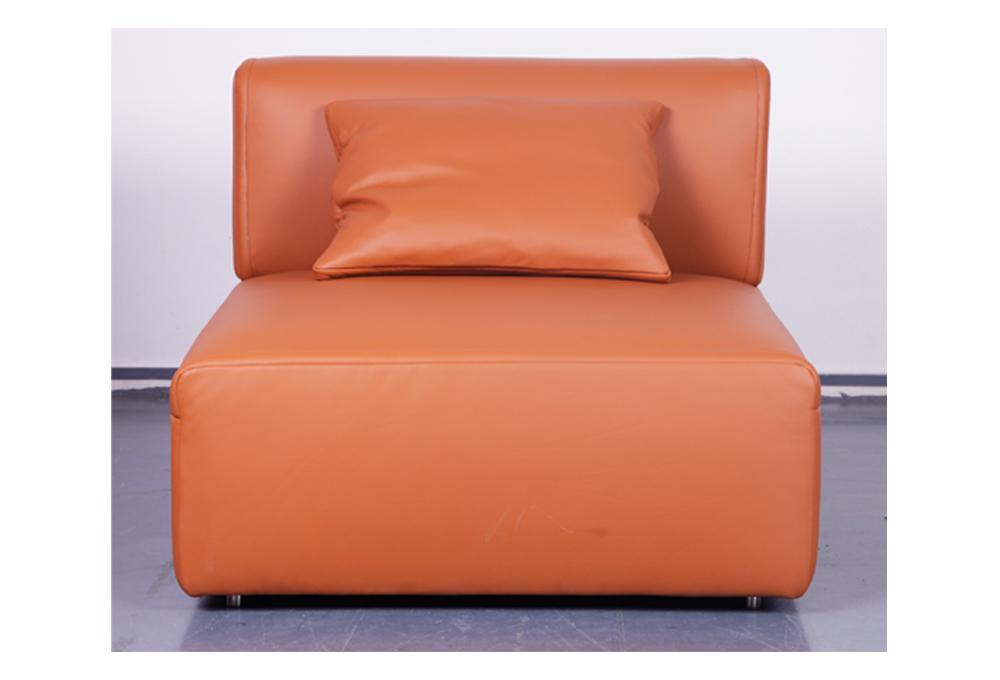 多索  现代简约转角客厅组合真皮沙发(Dosso)