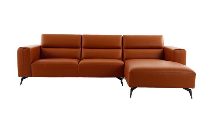 布茨 现代简约轻奢客厅真皮沙发(Bouts Sofa)