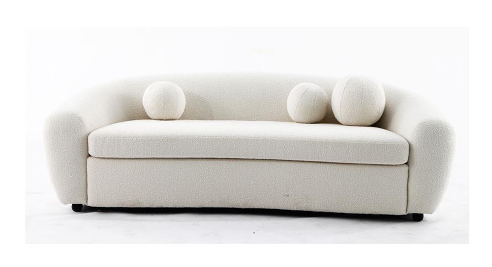 格罗 现代简约轻奢创意客厅布艺沙发(Gros)