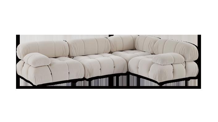 现代简约小户型布艺沙发利比模块组合沙发(Lippi Sofa)