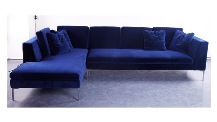 雷纳托 现代极简轻奢转角客厅布艺沙发(Renato Sofa)