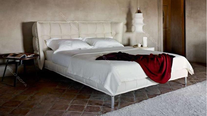 叙厄尔 现代风格双人床主人床(Sueur bed)